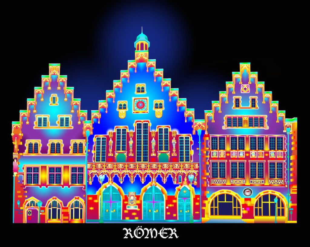 Roemer_Lichtinstallation_copyright_Chromolithe_Patrice_Warrener